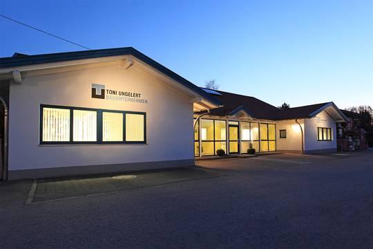 aktuelles Firmengebäude Toni Ungelert Bauunternehmen