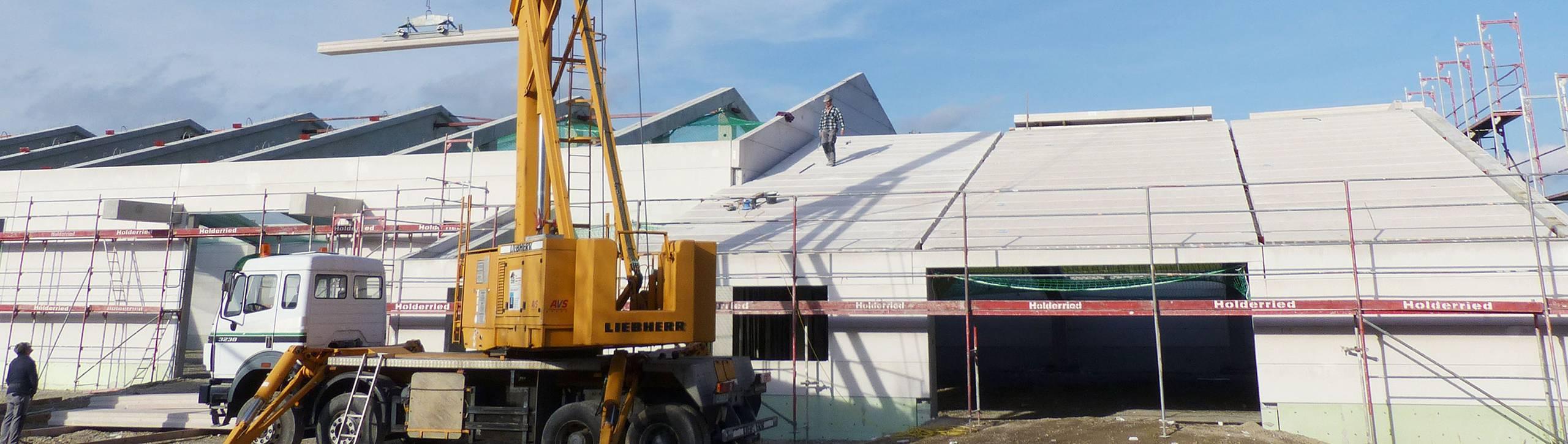 Hallenbau – Toni Ungelert Bauunternehmen