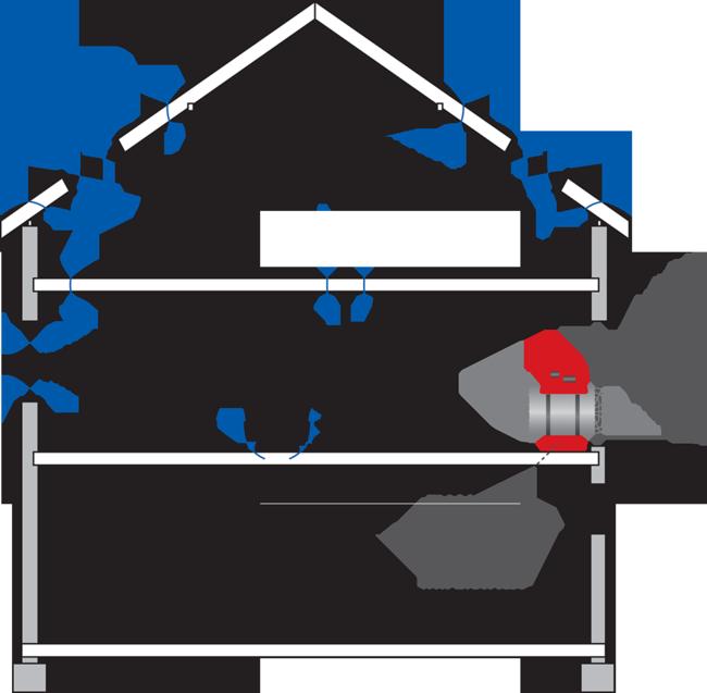 Blower-Door-Verfahren – Toni Ungelert Bauunternehmen © LTM GmbH