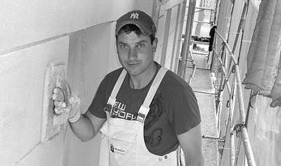 Willi Grieser - Vorarbeiter Verputzer bei Toni Ungelert Bauunternehmen