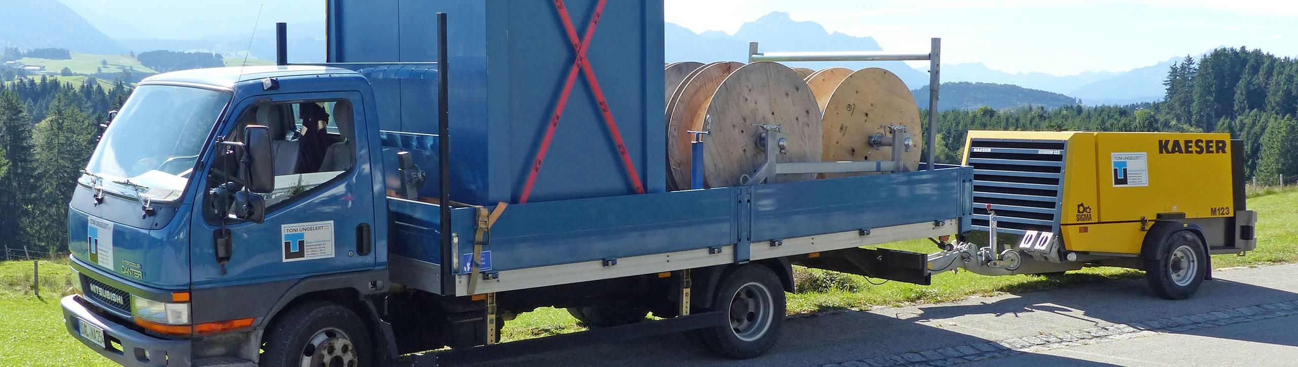 Kabelbau – Toni Ungelert Bauunternehmen